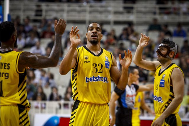 H www.betshop.gr νέος χορηγός της ομάδας μπάσκετ της ΑΕΚ