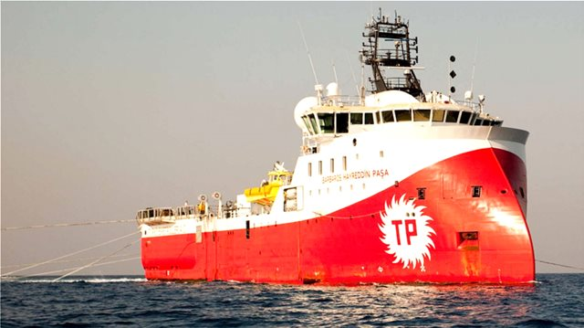 Νέα τουρκική πρόκληση: Το «Barbaros» και τέσσερα πολεμικά πλοία μπήκαν στην κυπριακή ΑΟΖ
