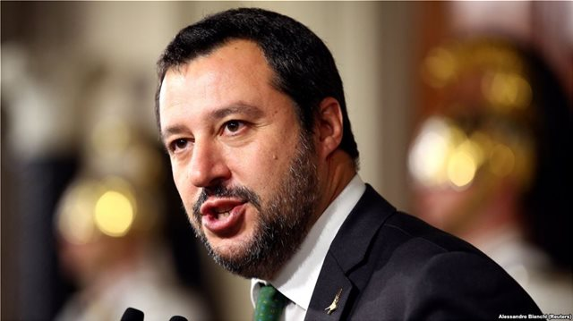 "Salvini: ""EU is sanctioning Russia while taking no action over Turkey's occupation of a European country""!"