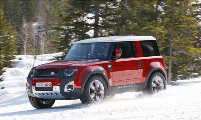 To νέο Land Rover Defender αλλάζει ριζικά