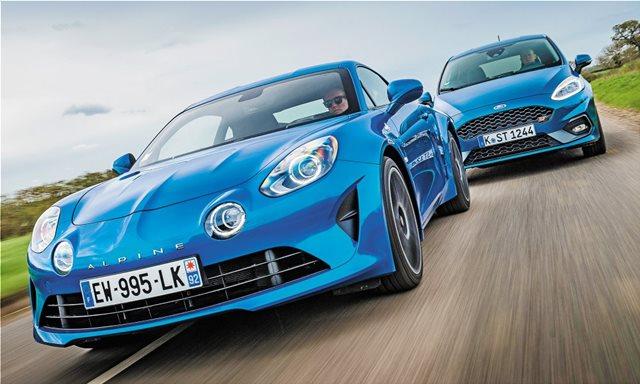 Συγκρίνουμε: Alpine A110 vs Ford Fiesta ST