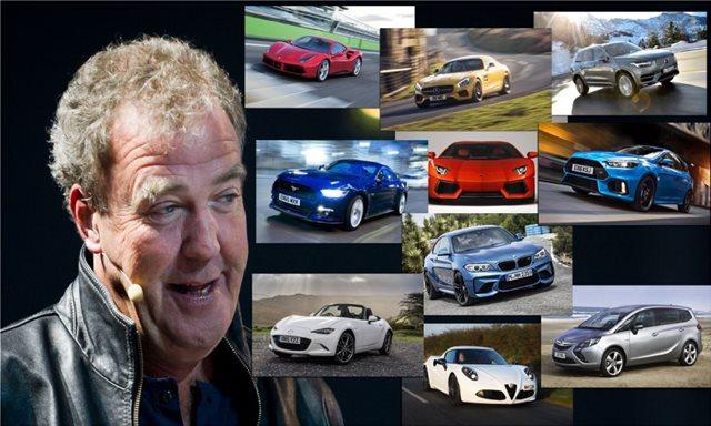 Ο Clarkson ανακοινώνει το αυτοκίνητο της χρονιάς...