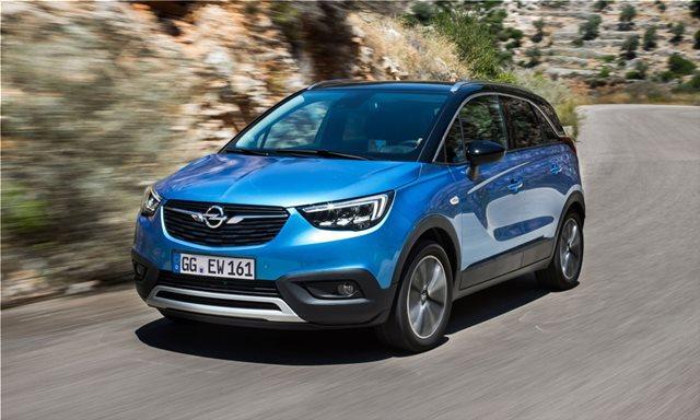 To Opel Crossland X και με 1,5 diesel 120 ίππων