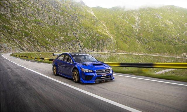 Το Subaru WRX STI σημειώνει ρεκόρ στη Transfagarasan (video)