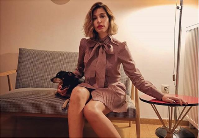 Η Κατερίνα Παπουτσάκη με φουσκωμένη κοιλίτσα στη Νέα Υόρκη