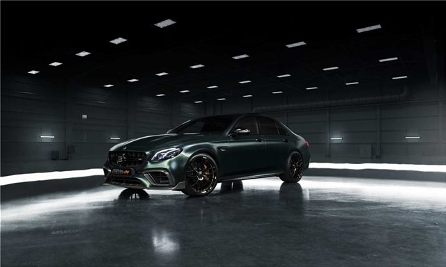 H Brabus ετοίμασε την οικογενειακή Mercedes των 789 ίππων