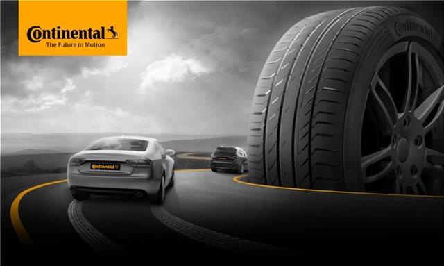 Κερδίστε εύκολα ένα καινούργιο σετ ελαστικών Continental για το αυτοκίνητό σας