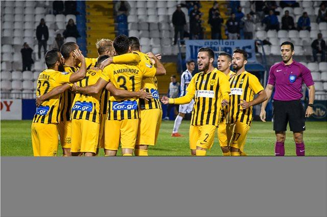 Super League Απόλλων Σμύρνης-Άρης 1-2: ΚαθΑΡΗσε με γκολάρα