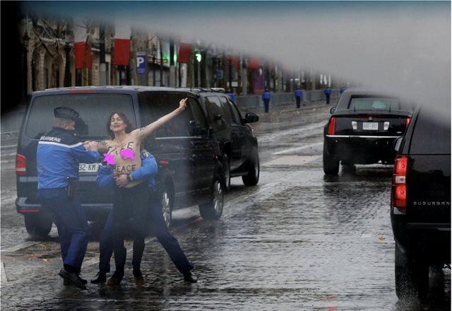 Οι Γάλλοι απαντούν στις επικρίσεις για τις Femen: «Δεν είναι όπλο μαζικής καταστροφής»