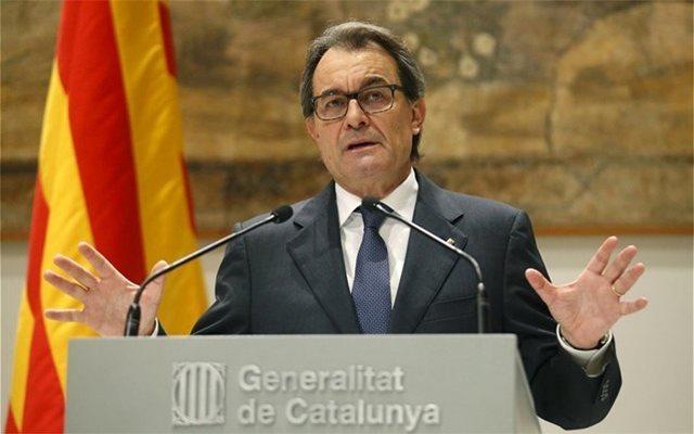 Καταλονία: Πρόστιμο 4,9 εκατ. ευρώ στον Αρτούρ Μας για το δημοψήφισμα του 2014