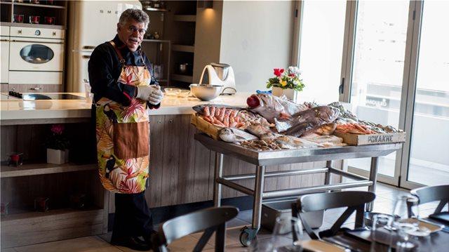 Ο Λευτέρης Λαζάρου αποκαλύπτει τα μυστικά της κουζίνας του σε ένα ξεχωριστό Masterclass