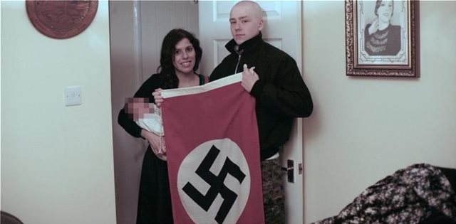 Neo-Nazi couple that named baby Adolf were sentenced in the UK for membership in terrorist group
