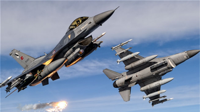 Turkey violates Greek airspace on multiple occasions