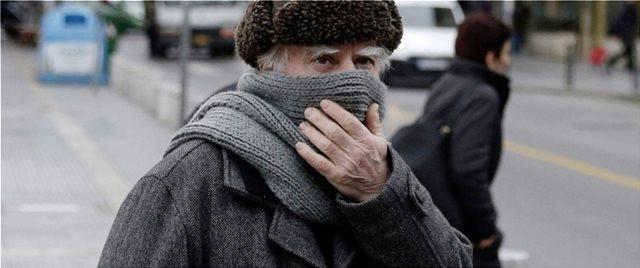 Ο καιρός του τριημέρου: Κρύο, θυελλώδεις άνεμοι στα πελάγη και χιόνια στα ορεινά
