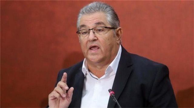 Κουτσούμπας: Συνεχίζεται η μάχη για τους στόχους της εξέγερσης του Πολυτεχνείου