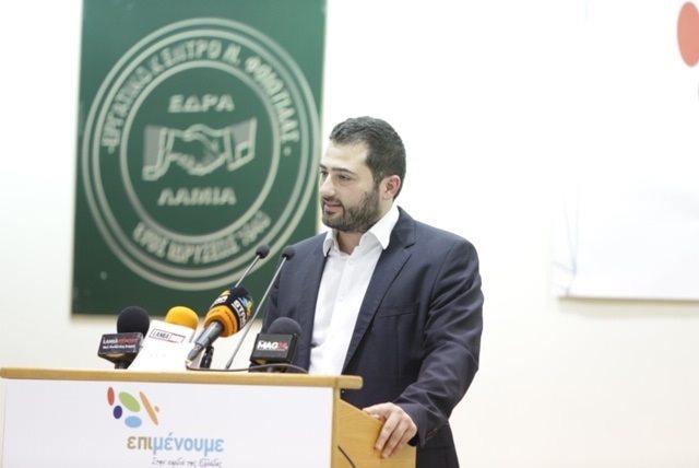 Ο Φάνης Σπανός ανακοίνωσε την υποψηφιότητά του για την Περιφέρεια Στερεάς Ελλάδας