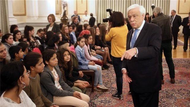 Παυλόπουλος: Τα δικαιώματα των παιδιών είναι κατεξοχήν ζήτημα πολιτισμού