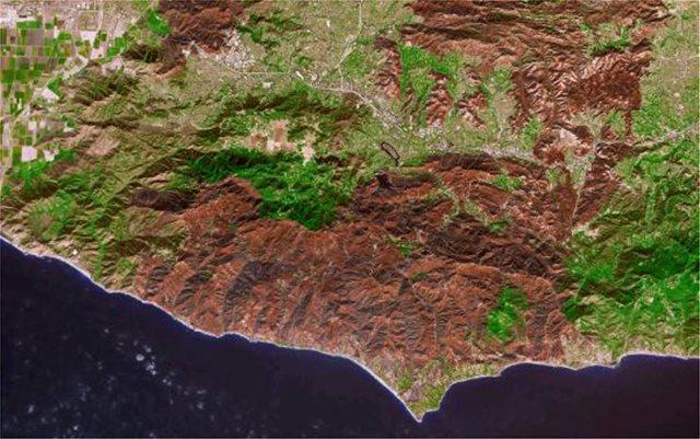 Καλιφόρνια: Ορατή από το διάστημα η περιβαλλοντική καταστροφή από τις πυρκαγιές
