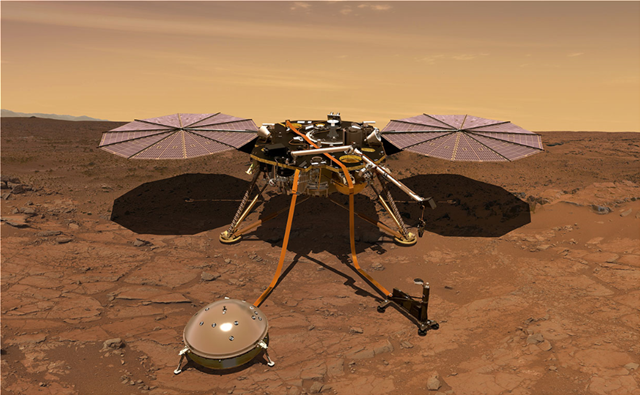 Προσεδαφίζεται τη Δευτέρα στον Αρη το πρώτο ρομποτικό γεωλογικό εργαστήριο