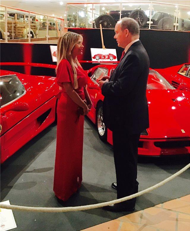 Η έκθεση του πρίγκιπα Αλβέρτου για τη Ferrari με τη συμμετοχή Ελληνίδας ζωγράφου