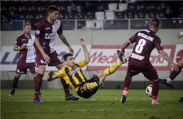 Super League, Λάρισα-ΑΕΚ 0-0: Πέταξε στον Πηνειό τις τελευταίες της ελπίδες