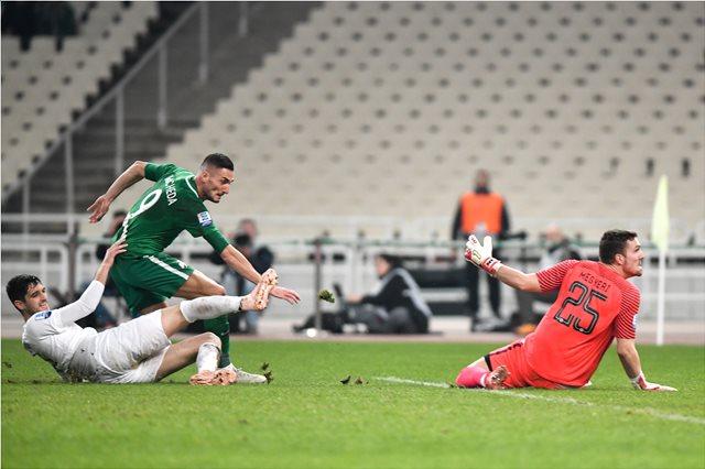 Super League, Παναθηναϊκός-Ατρόμητος 1-0: Τρίποντο με τη σφραγίδα των Μακέντα, Διούδη