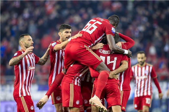 Super League, Ολυμπιακός-Λαμία 3-0: Προσγείωση χωρίς... αναταράξεις
