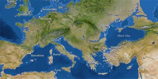 Τρομακτικό σενάριο. Ο χάρτης που δείχνει ότι η κλιματική αλλαγή θα εξαφανίσει τις Κυκλάδες