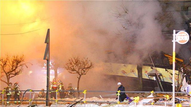 Εικόνες-σοκ στην Ιαπωνία: Τουλάχιστον 40 τραυματίες από έκρηξη σε εστιατόριο