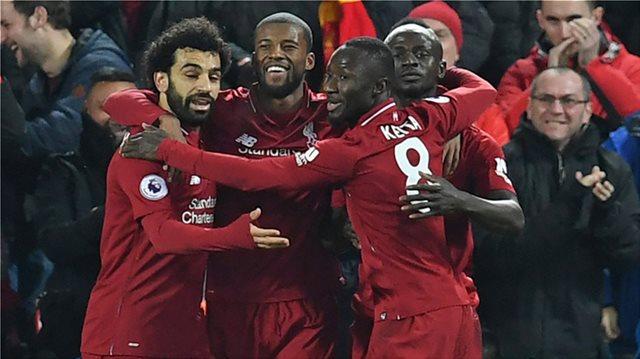 Premier League, Λίβερπουλ-Μάντσεστερ Γιουνάιτεντ 3-1: Ο Σακίρι έσπασε την κατάρα και την έστειλε στην κορυφή!
