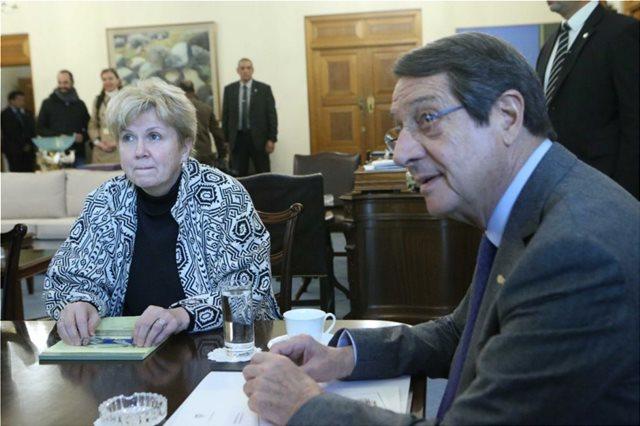 Κύπρος: Έληξε χωρίς δηλώσεις η συνάντηση Αναστασιάδη - Λουτ