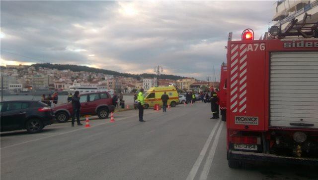 Σοκ στη Λέσβο: Βουτιά ΙΧ αυτοκινήτου στο λιμάνι - Γνωστός τουριστικός πράκτορας νεκρός