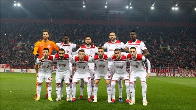 Olympiakos to play Dynamo Kiev in Europa League final 32
