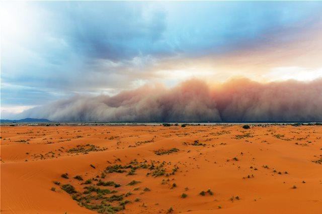 Ρεκόρ Γκίνες από τη... Σαχάρα! Σκόνη της ερήμου στην Καραϊβική, σε απόσταση... 3.500 χλμ!
