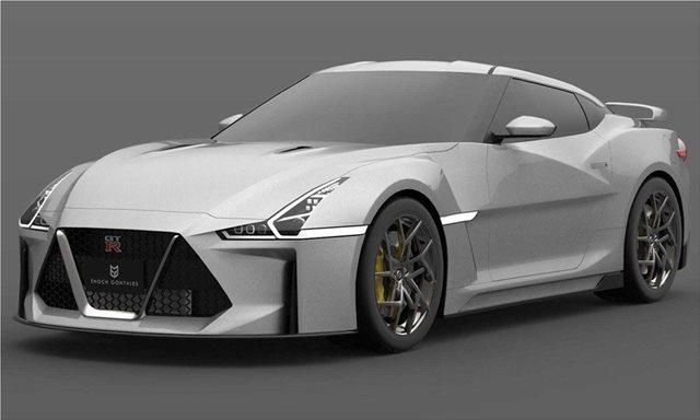 Είναι αυτό το νέο Nissan GT-R;