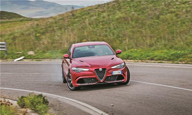 Δοκιμή: Alfa Romeo Giulia Quadrifoglio στο Targa Florio