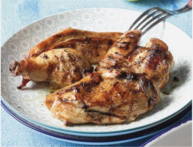 «Παϊδάκια» κοτόπουλου μαριναρισμένα με σάλτσα κάρυ