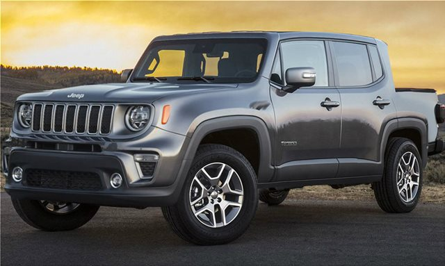 To Jeep Renegade και σε pick up