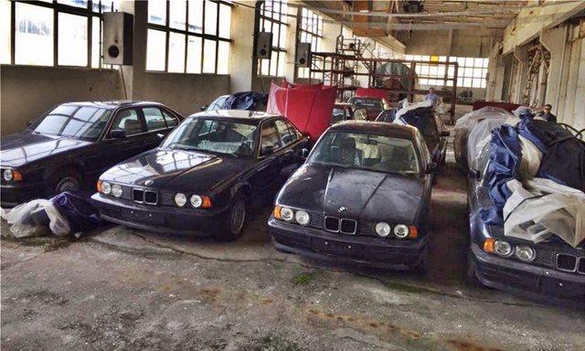 Βουλγαρία: Βρέθηκαν 11 BMW Σειρά 5 του 1994 με 0 χιλιόμετρα