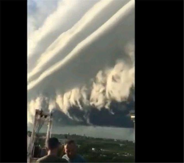 Εκπληκτικό βίντεο: Καταιγίδα σκεπάζει τον ουρανό του Μπουένος Άιρες