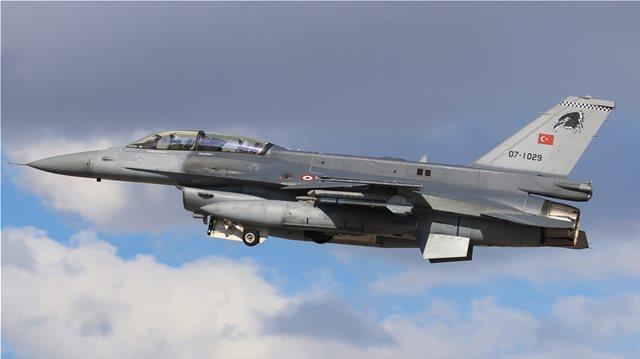 ΥΠΕΡΠΤΗΣΕΙΣ ΤΟΥΡΚΙΚΩΝ F-16 ΣΤΑ ΔΩΔΕΚΑΝΗΣΑ