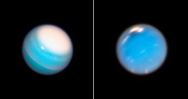 Νέες φωτογραφίες από το Hubble «αποκαλύπτουν» τα μυστικά του Ουρανού και του Ποσειδώνα