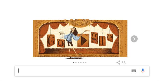 Μολιέρος: H Google τιμά με Doodle τον «δάσκαλο» της κωμωδίας