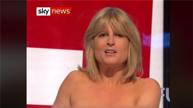 Boris Johnson's sister Rachel flashes boobs on live TV in Brexit debate (video)