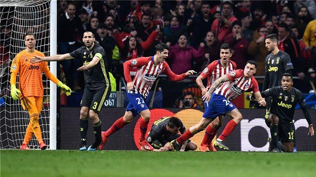 Champions League, Ατλέτικο Μαδρίτης-Γιουβέντους 2-0: Ξύλο, μάχη και... σούπερ Ατλέτικο!