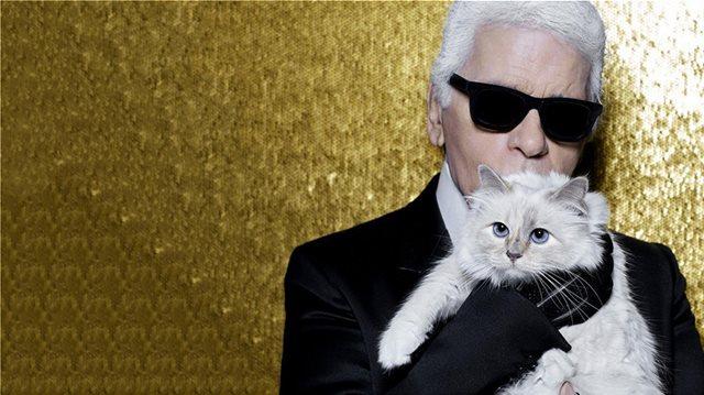 Καρλ Λάγκερφελντ: Κληρονόμος των 150 εκατομμυρίων λιρών του θα είναι η γάτα του;