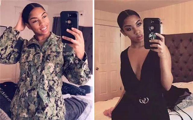 Γυναίκες πετάνε τη στολή τους και φωτογραφίζονται