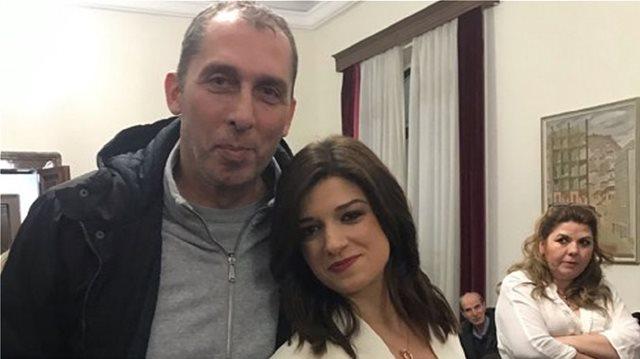Βασίλης Λυπηρίδης: Από τα... παρκέ, υποψήφιος με την Νοτοπούλου