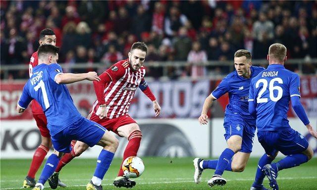 Europa League: Για την πρόκριση στο Κίεβο ο Ολυμπιακός