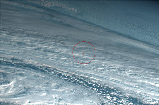 NASA: ΜΕΓΑΛΟΣ ΜΕΤΕΩΡΙΤΗΣ ΣΥΓΚΡΟΥΣΤΗΚΕ ΜΕ ΤΗΝ ΑΤΜΟΣΦΑΙΡΑ ΤΗΣ ΓΗΣ ΤΟΝ ΔΕΚΕΜΒΡΙΟ